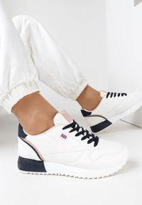 Białe sneakersy Born2be