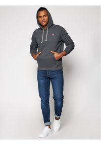 Levi's® Bluza New Original 34581-0012 Szary Standard Fit. Kolor: szary