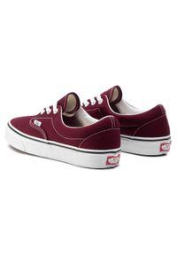 Czerwone buty sportowe Vans z cholewką, Vans Era