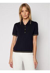 Niebieska koszulka polo Luisa Spagnoli polo