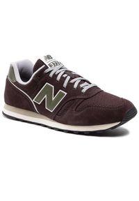 New Balance Sneakersy ML373RB2 Brązowy. Kolor: brązowy. Model: New Balance 373