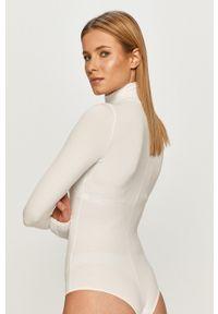 Spanx - Body. Kolor: biały. Materiał: materiał