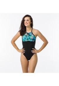 OLAIAN - Kostium Kąpielowy Jednoczęściowy Andrea Pagi Damski. Kolor: zielony. Materiał: poliester, elastan, poliamid, materiał