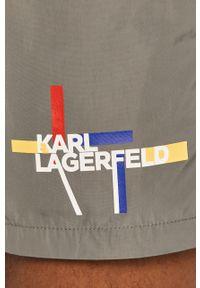 Szare kąpielówki Karl Lagerfeld
