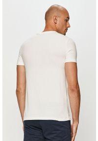 Biały t-shirt Polo Ralph Lauren polo, z nadrukiem