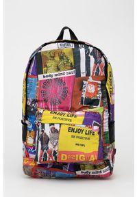 Desigual - Plecak. Materiał: materiał