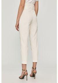 Jeansy loose fit TwinSet gładkie, klasyczne, z podwyższonym stanem
