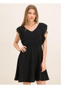 iBlues Sukienka koktajlowa 72262696 Czarny Regular Fit. Kolor: czarny. Styl: wizytowy