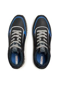 s.Oliver - Sneakersy S.OLIVER - 5-13614-26 Navy 805. Okazja: na co dzień. Kolor: niebieski. Materiał: zamsz, materiał, skóra. Szerokość cholewki: normalna