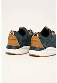 Sneakersy Wrangler z okrągłym noskiem, na sznurówki