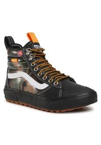 Vans - Sneakersy VANS - Sk8-Hi Mte 2.0 Dx VN0A4P3I2TI1 (Mte) Black/Cam. Okazja: na co dzień. Kolor: czarny. Materiał: skóra ekologiczna, materiał. Szerokość cholewki: normalna. Styl: casual. Model: Vans SK8