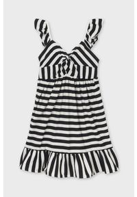 Czarna sukienka Mayoral na ramiączkach, mini