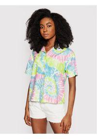 Vans Koszula Spiraling Kolorowy Regular Fit. Wzór: kolorowy