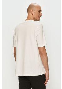 Biała bluzka Reebok Classic z nadrukiem, na co dzień, casualowa
