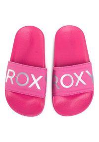 Różowe klapki Roxy