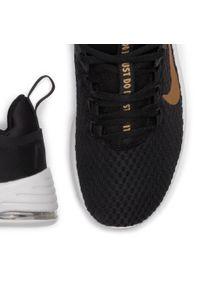 Nike - Buty NIKE - Air Max Bella Tr 2 AQ7492 001 Black/Metallic Gold/Vast Grey. Kolor: czarny. Materiał: materiał. Szerokość cholewki: normalna. Obcas: na płaskiej podeszwie. Model: Nike Air Max