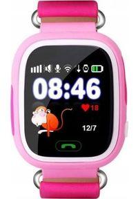 Różowy zegarek QL smartwatch