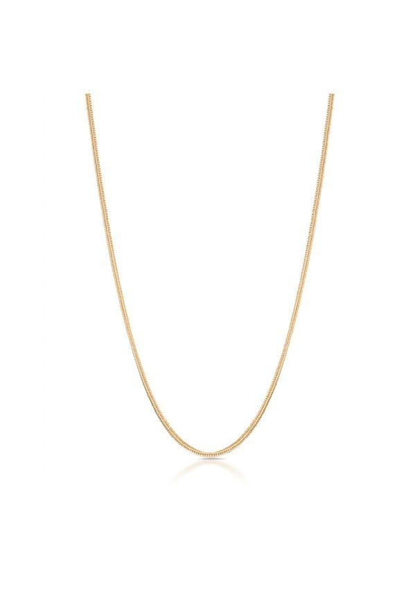 W.KRUK Unikalny Łańcuszek Złoty - złoto 585 - ZVI/LW03. Materiał: złote. Kolor: złoty. Wzór: ze splotem