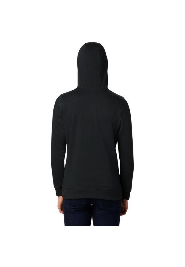 Czarna bluza sportowa columbia z kapturem