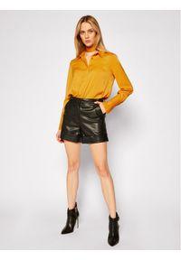 Guess Koszula Vivian W0BH05 W3TO2 Żółty Loose Fit. Kolor: żółty