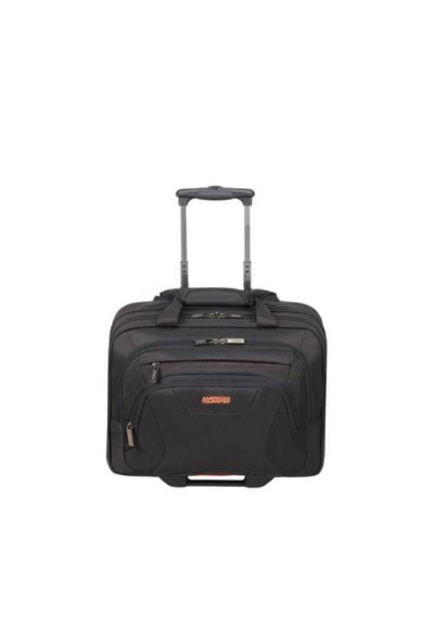 Czarna torba na laptopa AMERICAN TOURISTER wakacyjna