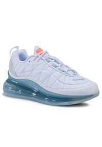 Białe buty sportowe Nike Nike Air Max, na co dzień, z cholewką