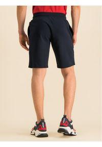 Niebieskie spodenki sportowe Emporio Armani Underwear