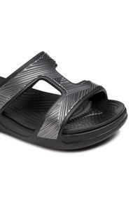 Crocs Klapki Monterey Metallic Sowdg 207144 Czarny. Kolor: czarny