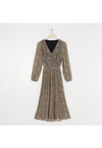 Sinsay - Sukienka maxi - Wielobarwny. Długość: maxi