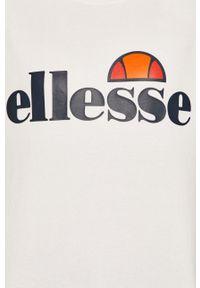Biała bluza Ellesse bez kaptura, na co dzień, casualowa, z nadrukiem #4