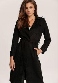Czarny płaszcz Renee
