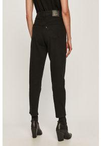 Czarne jeansy loose fit Levi's® na spotkanie biznesowe, z podwyższonym stanem, biznesowe