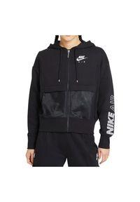 Bluza damska Nike Air CZ8618. Materiał: dzianina, materiał. Wzór: nadruk, haft, aplikacja, gładki