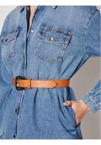 Liu Jo Kurtka jeansowa UA1176 D4617 Granatowy Regular Fit. Kolor: niebieski. Materiał: jeans