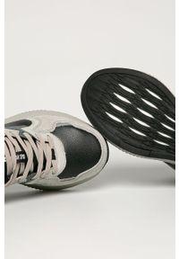 Szare sneakersy Big-Star na sznurówki, z cholewką #5
