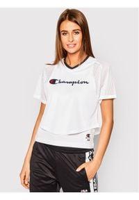 Champion T-Shirt 112903 Biały Regular Fit. Kolor: biały