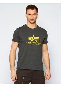Szary t-shirt Alpha Industries