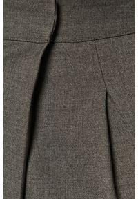Szare spodnie materiałowe Silvian Heach z podwyższonym stanem, klasyczne