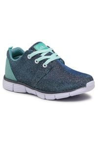 Nelli Blu - Sneakersy NELLI BLU - CP49-7312-1 Denim 1. Kolor: niebieski. Materiał: materiał. Szerokość cholewki: normalna