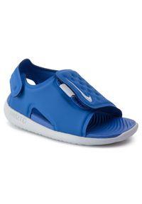 Niebieskie sandały Nike