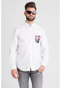 Koszula Just Cavalli na spotkanie biznesowe, casualowa