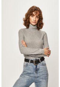 Szary sweter Pepe Jeans z golfem