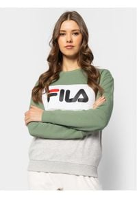 Fila Bluza Leah 687043 Kolorowy Regular Fit. Wzór: kolorowy