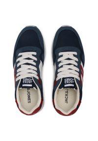 Jack & Jones - Sneakersy JACK&JONES - Jrstellar 12170619 Majolica Blue. Kolor: niebieski. Materiał: skóra ekologiczna, materiał. Szerokość cholewki: normalna. Obcas: na płaskiej podeszwie