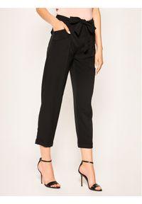 Czarne spodnie materiałowe Liu Jo