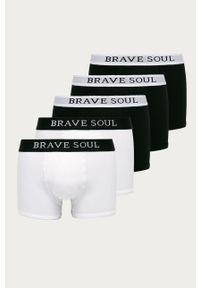 Czarne majtki Brave Soul z nadrukiem