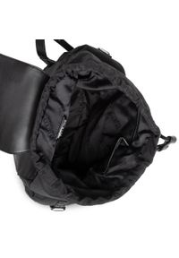 Versace Jeans Couture - Plecak VERSACE JEANS COUTURE - E1VWABX3 71886 899. Kolor: czarny. Materiał: materiał. Styl: elegancki, sportowy, casual