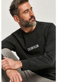 Czarna bluza nierozpinana Calvin Klein Performance na co dzień, casualowa
