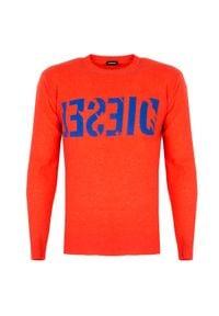 """Diesel Sweter """"K-Joy"""". Okazja: na co dzień. Materiał: kaszmir, wełna. Styl: casual"""