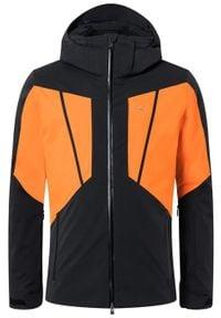 KJUS Kurtka narciarska męska Boval black orange